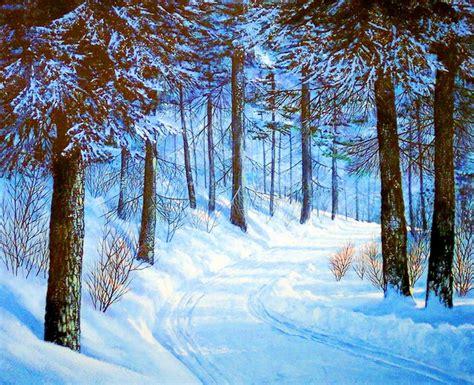 imagenes increibles de invierno im 225 genes arte pinturas la m 225 xima expresi 243 n del invierno