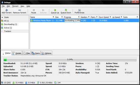 tutorial utorrent linux deluge a great utorrent clone for windows linux and mac