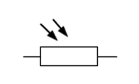 light dependent resistor symbol passive electronic components electronics information from penguintutor