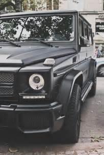 matte black g class mercedes transport