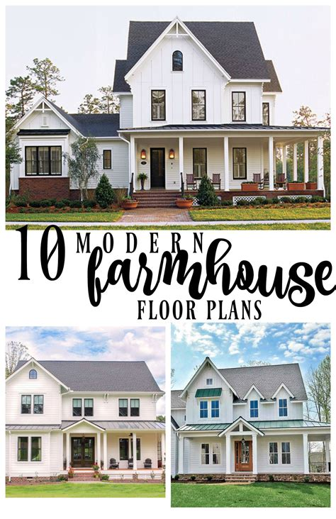 farmhouse blog 10 modern farmhouse floor plans i love rooms for rent blog