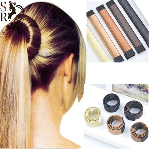 1pc plate hair donut bun 1pc hair accessories synthetic wig plate hair donut bun
