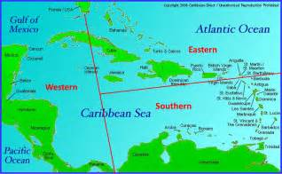 map of eastern us and caribbean eastern caribbean cruise islands punchaos