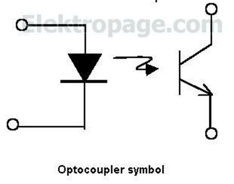 optocoupler diode symbol what do optocouplers do