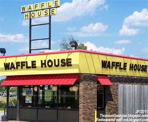 wafflw house restaurant fast food menu mcdonald s dq bk hamburger pizza