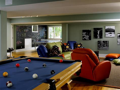 home design decor fun game room ideas for family