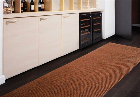 Rug In Kitchen With Hardwood Floor Galley Kitchen Decoration With Rug Brown Accent Kitchen Floor Mats Espresso Timber Wood Floor