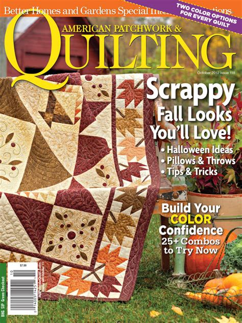 American Patchwork Magazine - american patchwork quilting issue 118 october 2012