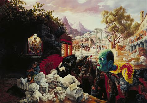 Peter Blume The Eternal City La Peinture Am 233 Ricaine Des