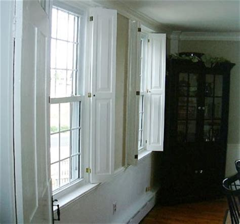 Interior Raised Panel Shutters by Interior Shutters Articles