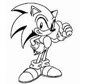 Dibujos Y Plantillas Para Imprimir Sonic