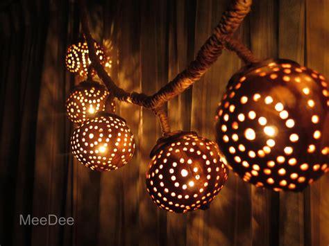 coconut shell chandelier wooden hanging l coconut shell light chandelier