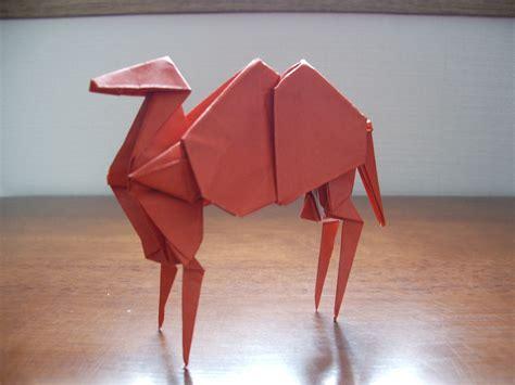 Origami Camel - katakoto origami july 2010