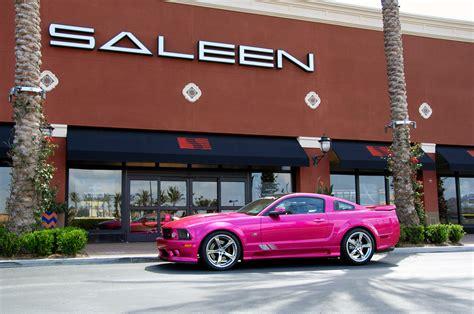 pink saleen mustang pink saleen mustang for sale autos weblog
