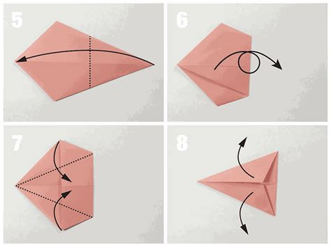 Original Origami - easy traditional origami fish tutorial