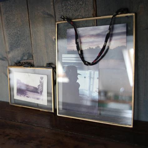 x large nkuku brass picture photo frame portrait kiko