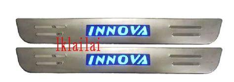 Innova Sill Plate Sing Plastik toyota innova door side sill plate end 6 15 2017 9 16 pm