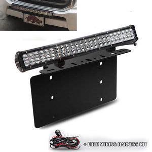 for toyota 4runner tacoma 126w led light bar front license