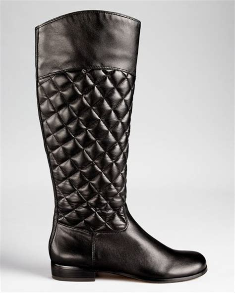 Corso Como Quilted Boots corso como boots santona quilted in black lyst