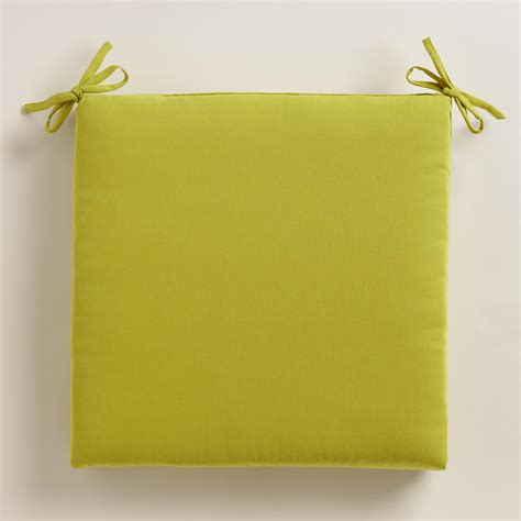 Patio Cushions World Market Green Outdoor Chair Cushion World Market