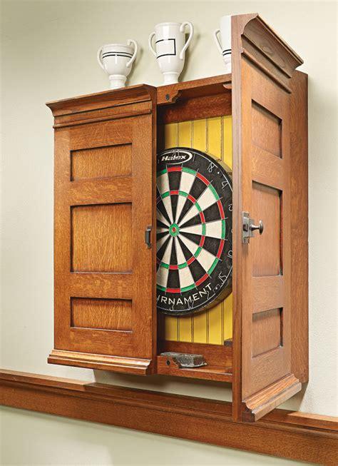 Cabinet Dartboard by Dartboard Cabinet
