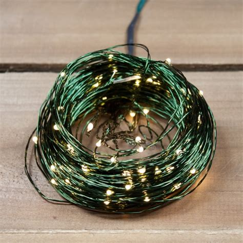christmas lights orman ultra thin wire plug in warm white