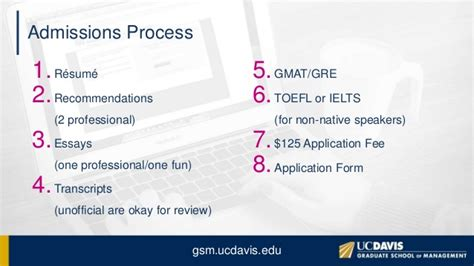 Uc Davis Mba Toefl Code by Uc Davis Mba Application Tips