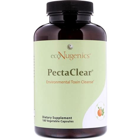 Econugenics Detox Complete Reviews by Econugenics Pectaclear Environmental Toxin Cleanse 180