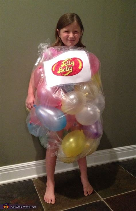 jelly bean bag costume bag of jelly beans costume
