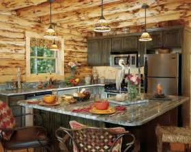 rustic cabin kitchen ideas photos of a waterfront log home homecoming weekend