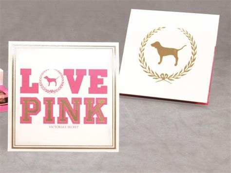 Vs Pink Gift Card - victoria s secret pink gift card holder structural graphics