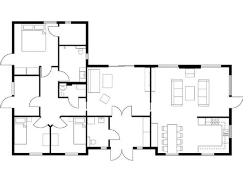 house floor plan layouts floor plans roomsketcher