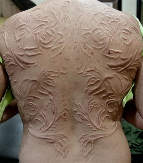 scarification tattoo pretty scarification tattoos designs for tattoosera