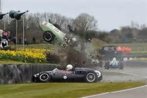 F1 Crash Miracle Escape In Goodwood F1 Crash Speedcafe