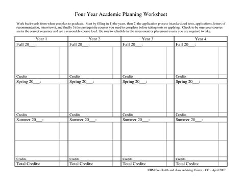 course planner template college course planner template best free home