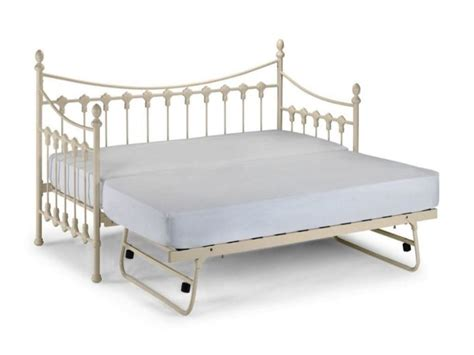Iron Daybed With Trundle Furniture White Wrought Iron Daybeds With Trundle Rectangle White Mattress Enchanting