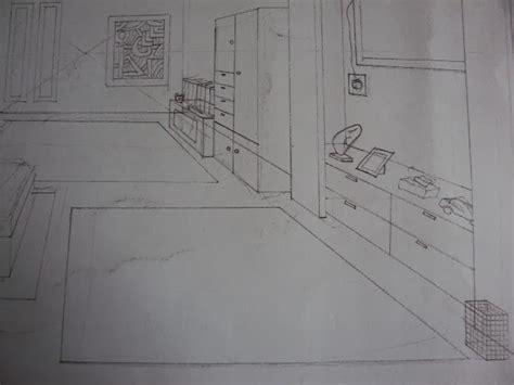 tutorial menggambar desain interior teknik membuat gambar perspektif satu titik lenyap quot desain