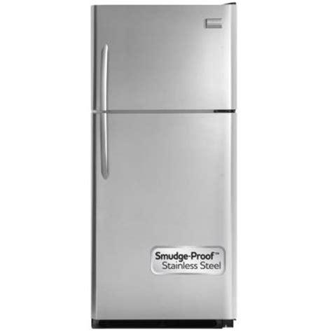 frigidaire gallery 21 cu ft top freezer refrigerator in