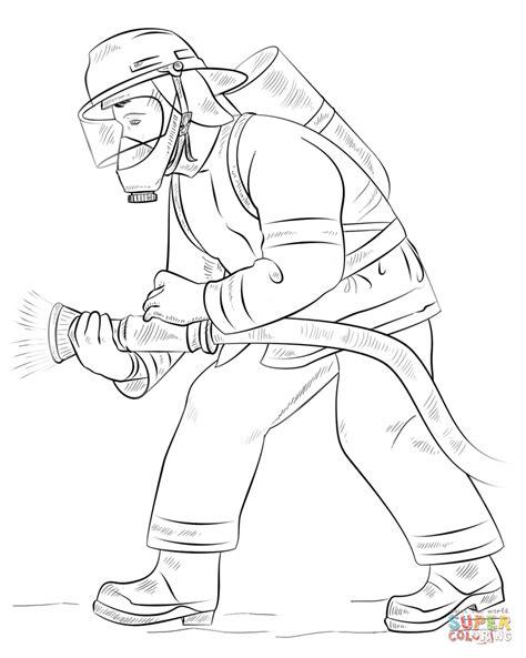 dibujo bombero colorear dibujos colorear imprimir gratis