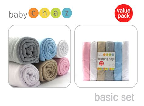 Baby Chaz White Set Bedong Bayi products