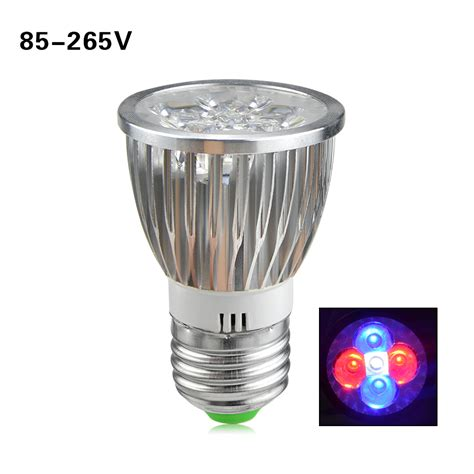 1pcs E27 10w Led Plant Grow Lights L Ac110v 220v Full Led Light Bulbs For Growing Plants