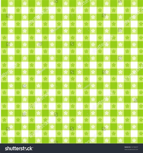 tablecloth pattern vector vector seamless tablecloth pattern lime green and white