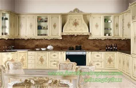 Tempat Tidur Empire kitchen set mewah kayu mahoni http www furnitureimpian dapur impian kitchen set mewah kayu