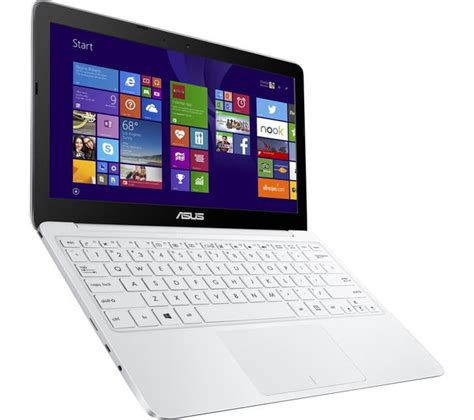 Laptop Asus Eeebook X205ta asus eeebook x205ta 11 6 laptop white deals pc world