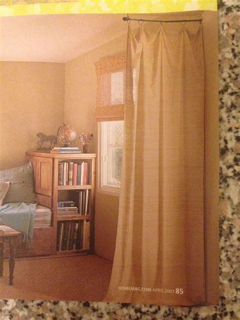 curtains to separate rooms curtains to divide a room decor pinterest