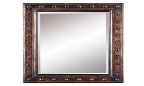 Charming Framed Bathroom Mirrors #3: Allen-roth-bronze-rectangular-framed-wall-mirror-allen-and-roth-closet-organizers-c58f55c31a9d5756.jpg