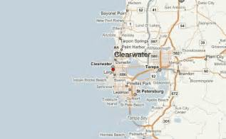 map of clearwater florida and surrounding areas clearwater location guide