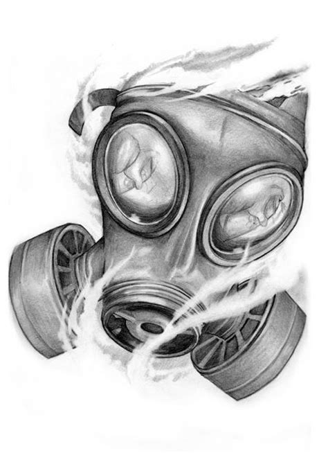 the 25 best ideas about gas mask tattoo on pinterest