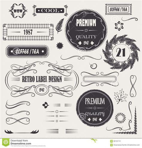 vector decorative design elements page decor ornamental decorative set vector ornate design elements