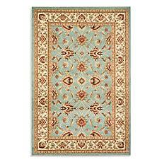vanity rug safavieh vanity blue ivory rug bed bath beyond